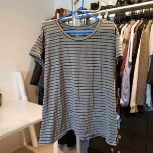 Swing striped tee